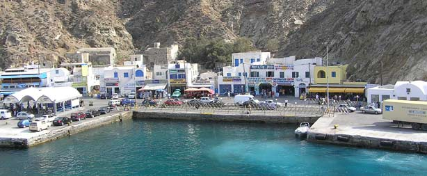 Santorini Port, Ferry, Athinios, Taxi Transfers, Bus, Car Rental